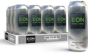 <b>Энергетический напиток E-ON</b> Black Power, 12 шт по 450 мл ...