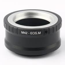 <b>Кольцо</b>-<b>адаптер</b> для <b>крепления</b> M42-EOS M для винтовых ...