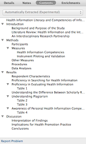 F  Scientific Literature Search Methodology        Advisory Report