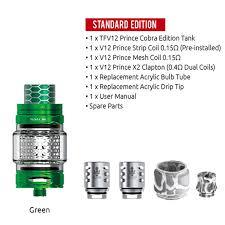 SMOK TFV12 Prince Cobra Edition 7ml Capacity Atomizer For 510 ...