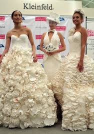 th annual toilet paper wedding dress contest