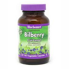 Buy Bluebonnet Nutrition, <b>Standardized Bilberry Fruit Extract</b>, 120 ...