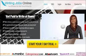 Make Money Writing For Online Writing Jobs  Just navigate to the search engine and find the legitimate and genuine website on the web that offer the best Automotive Writing Jobs online who pays quite