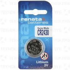 <b>Батарейка литиевая</b> CR2430 <b>Renata</b> — купить в интернет ...