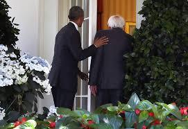 barack obama photos photos president obama meets with bernie sanders at the white house zimbio barack obama enters oval