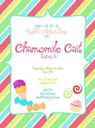 colorful and fun candyland party invitation template design colorful and fun candyland party invitation template design colorful stripes and cake decorations