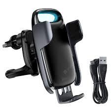 Baseus <b>Car</b> Charger Phone Holder Black <b>Car</b> Ornament Sale, Price ...