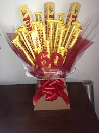 werthers originals tree chocolate bouquets trees toberone chocolate bouquet
