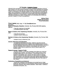 writing academic resume samples examples format resume writing academic resume
