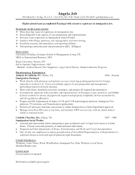 immigration paralegal resume   uhpy is resume in you immigration paralegal resume