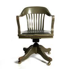antique deco wooden chair swivel office desk chair zoom antique deco wooden chair swivel
