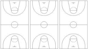 best photos of basketball play diagram sheets   printable    basketball court diagram