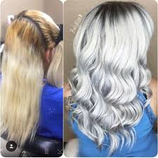 Stunning Silver-White - Behindthechair.com