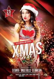 rawz christmas party flyer by stylewish
