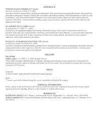example of an resume template example of an resume