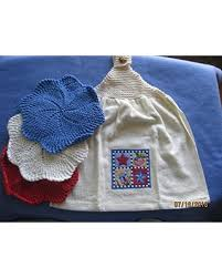 Amazing Deal on Hand Knitted Top Applique <b>Kitchen Towel</b> ...