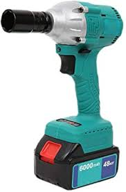 <b>Cordless Impact</b> Wrench, Electric Impact Driver <b>48V</b> High Torque ...