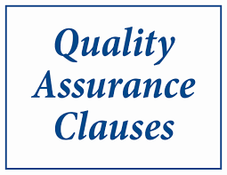 aerospace quality assurance act act quality assurance clauses
