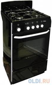 Газовая плита <b>DE LUXE 5040.38г черный</b> — купить по лучшей ...