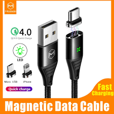Mcdodo <b>Magnetic Cable Fast</b> Charging & Sync <b>Data</b> Transfer ...
