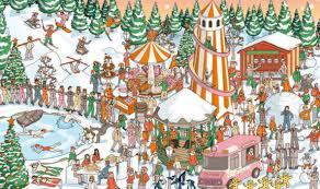 Optical illusion brainteaser: Can you spot Santa Claus in this festive ...