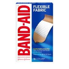 Band-Aid Brand <b>Flexible Fabric Adhesive Bandages</b> for Minor ...