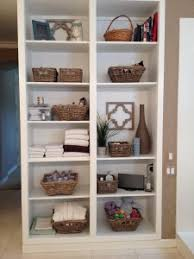 home office organizing open shelving in the bathroom in bathroom storage organizers chic pink amp chic attractive home office