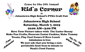 archives for greater johnstown school district kids corner craft fair flyer