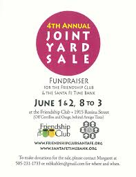 don t miss santa fe time bank s big annual yard 1 2 santa fe time bank a fiscally sponsored project of nmcf is having their big annual yard sat sun 1 2