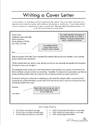 effective cover letters template effective cover letters