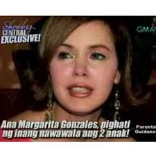 Former actress Ana Margarita Gonzales wants her children back | PEP.ph: The Number One Site for Philippine Showbiz - a56983919