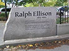 ralph ellison   wikipediaralph ellison monument in front of riverside drive