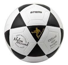 Отзывы на Футбольный <b>мяч Atemi GOAL</b>,5 размер,черный ...