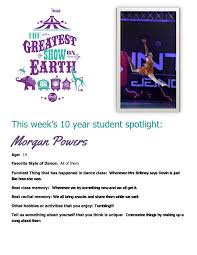dance student lessons morris channahon il illinois shorewood mazon this week s student spotlight