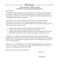 best accountant cover letter examples livecareer edit
