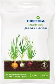 """<b>Удобрение</b> Фертика """"ОМУ"""", для <b>лука и</b> чеснока, 2,5 кг"""