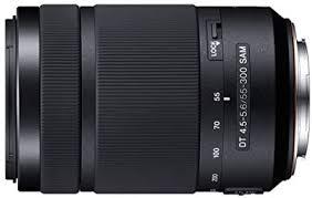 Sony 55-300mm DT f/4.5-5.6 SAM Telephoto Zoom A ... - Amazon.com
