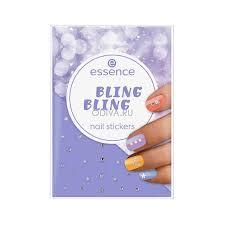 Essence, <b>bling bling</b> — <b>наклейки для ногтей</b> (стразы и жемчужины ...