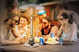 table top gas patio