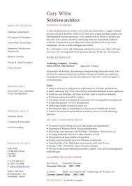 Solutions architect CV sample  CV writing  career history  work     Solutions architect CV sample  CV writing  career history  work experience  academic  jobs