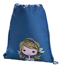 Купить мешок для сменной обуви <b>Hama Lovely girl синий</b>/голубой ...