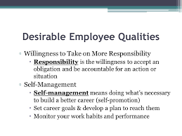 workplace ethics desirable employee qualities cooperativeness 5 desirable