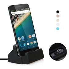 USB C Dock <b>Charger Desktop</b> Fast <b>Charging Data</b> Sync Station ...