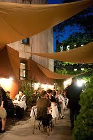 patio dining: outdoor garden patio fine dining hospitality of benchmark restaurant brooklyn