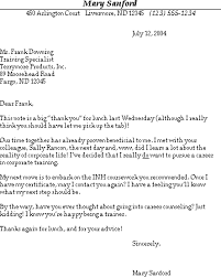Sample Thank You Letter for the Informational Interview - Free ... Thank you for the informational interview
