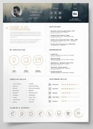 resume template cover letter for website builder gethook resume template 40 creative resume templates for job seekers pertaining to 81 terrific