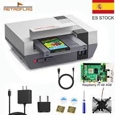 <b>RETROFLAG NESPi 4</b> Case For Raspberry Pi 4 Case with SSD ...