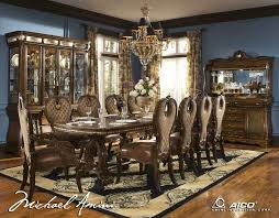 Formal Dining Room Set The Sovereign Rectangular Formal Dining Table By Aico Furniture On