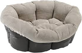 <b>Ferplast Sofa</b> Prestige <b>4 Cushion</b> Cat and Dog Bed Cover/Synthetic ...