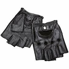 <b>Genuine Leather Half Finger</b> Gloves Men Summer Breathable ...